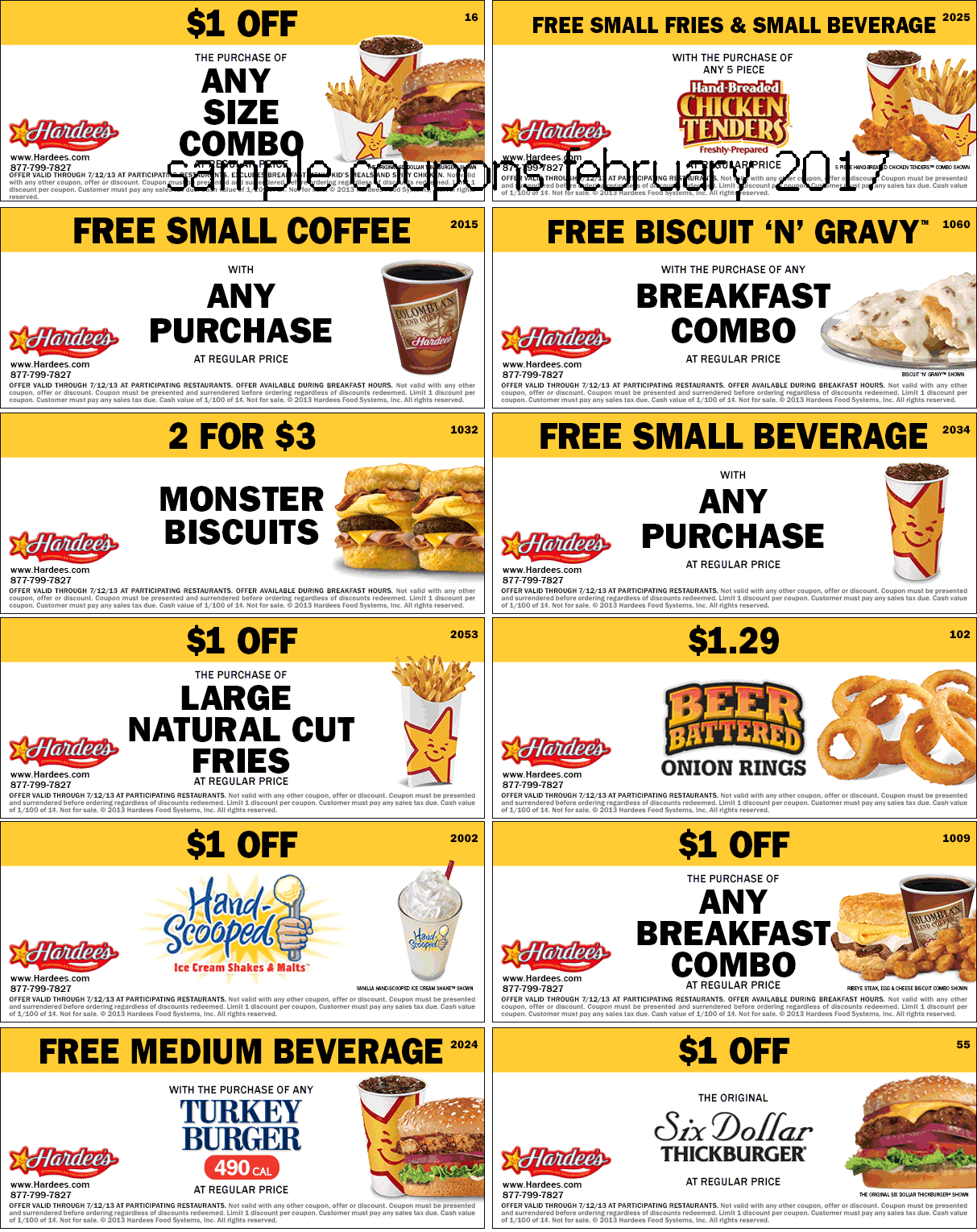Five guys coupons february 2018