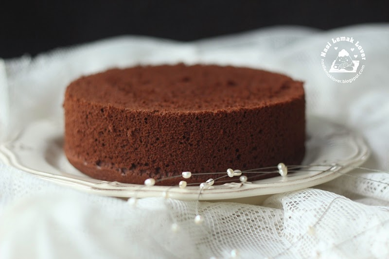 Chocolate Cake Recipe Japanese: Nasi Lemak Lover: Japanese Dark Pearl Chocolate Chiffon