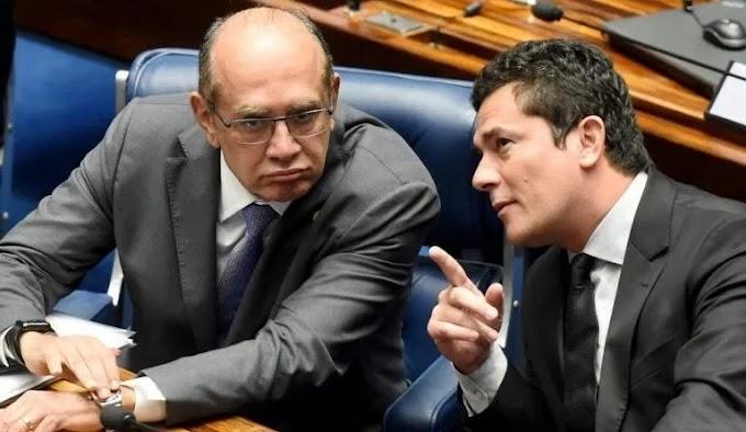 Gilmar Mendes inclui julgamento da suspeição de Moro na pauta desta terça-feira