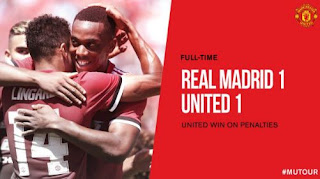 Video Gol Real Madrid vs Manchester United 2-3 (1-1) ICC 2017 Amerika