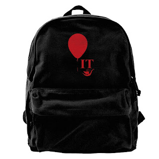 Stephen King's It The Movie Backpack, Stephen King It Gifts, Stephen king It Merchandise