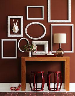designing life: Empty Frame Wall Art