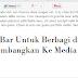 Menambahkan Tombol Berbagi Melayang Media Sosial di Blogger