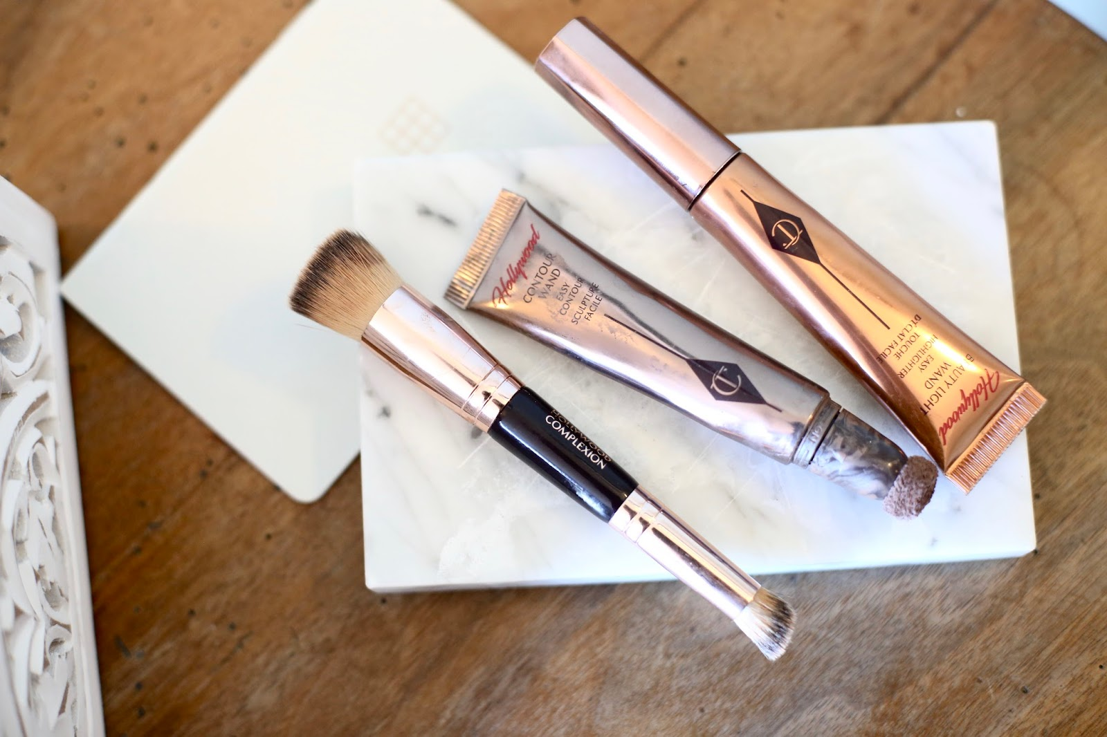 Charlotte tilbury highlight and contour