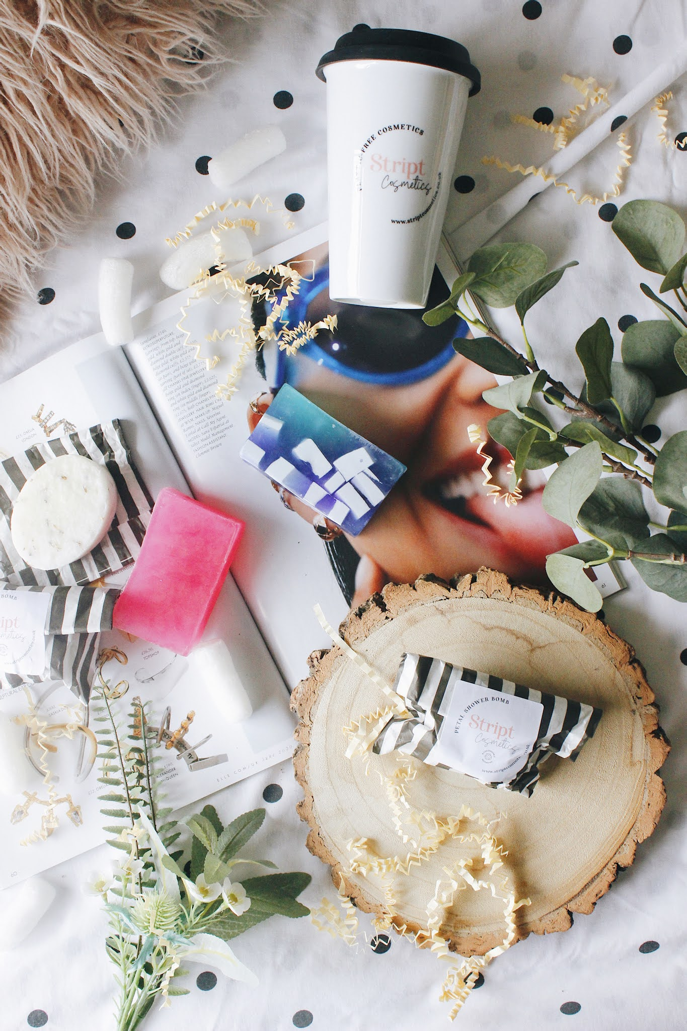 latest sustainable buys with Stript Cosmetics - Sarahlaublogs