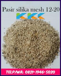 Pasir Silika Mesh 12-20