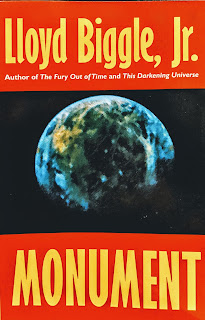 Book cover to Monument by Lloyd Biggle Jr