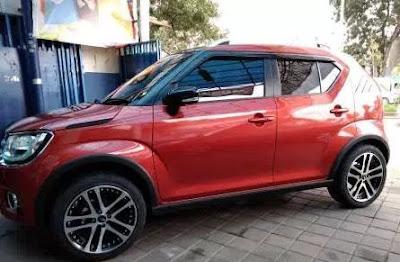 Modifikasi Velg Suzuki Ignis Bolehkah Pakai Velg Besar