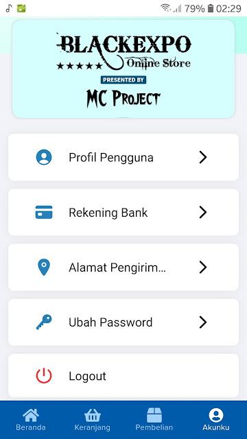 Source Code APK Android Toko Online Siap Pakai 2