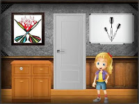 AmgelEscape Darts Home Escape Walkthrough
