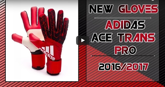 Gloves Adidas Ace Trans Pro 2016-2017 PES 2013