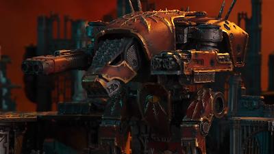 Titán Warhound del Caos