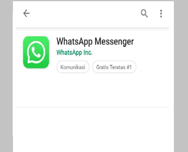 Instal Ulang WhatsApp Untuk Atasi Pesan Tidak Masuk