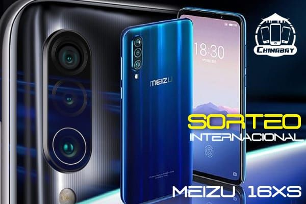 Sorteio Concorra a um Smartphone Meizu 16xs 6/64 gb