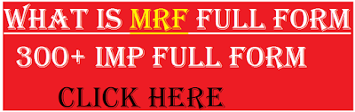 mrf full form