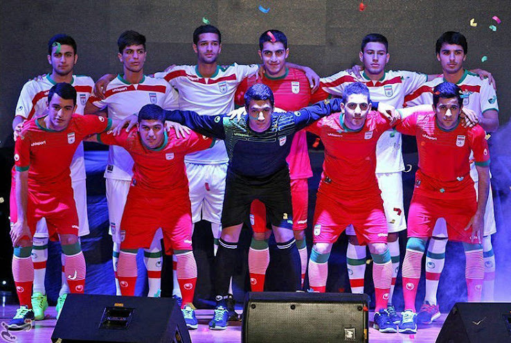 Iran 2014 World Cup Kits Unveiled - Footy Headlines fde839fad
