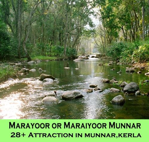 Munnar Attractions : Marayoor or Maraiyoor Munnar