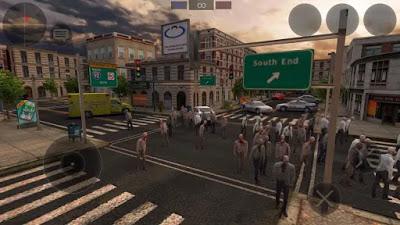 تحميل لعبة قتل الزومبي والبقاء على قيد الحياة Zombie Combat Simulator النسخة المهكرة للاجهزة الاندرويد
