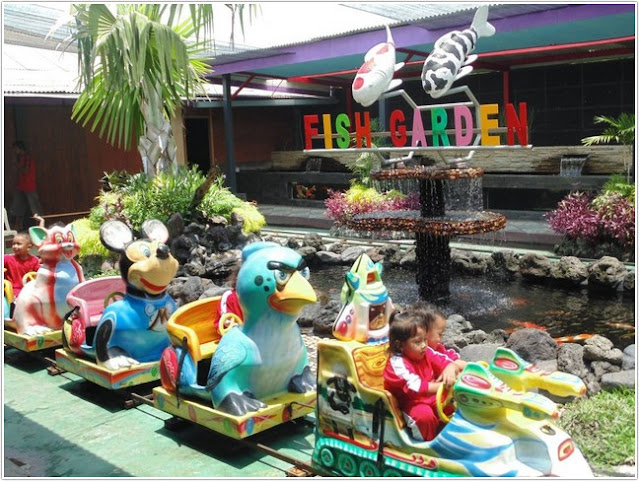 10 Top Destinasi Wisata Blitar;Fish Garden