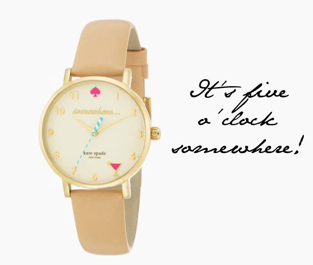 kate spade new york 'metro - somewhere' watch