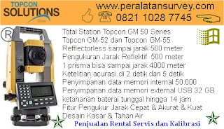 TOPCON GM-50 | GM-52 | GM-55 Total Station RS90N-K GNSS