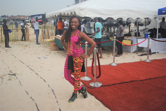 FABILAS FITNESS AT THE 2017 FITFAM FEST HELD IN LAGOS, NIGERIA