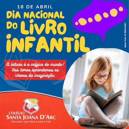 O Colégio Santa Joana D'Arc traz o Sítio do Picapau Amarelo para as crianças no dia Nacional do Livro infantil.