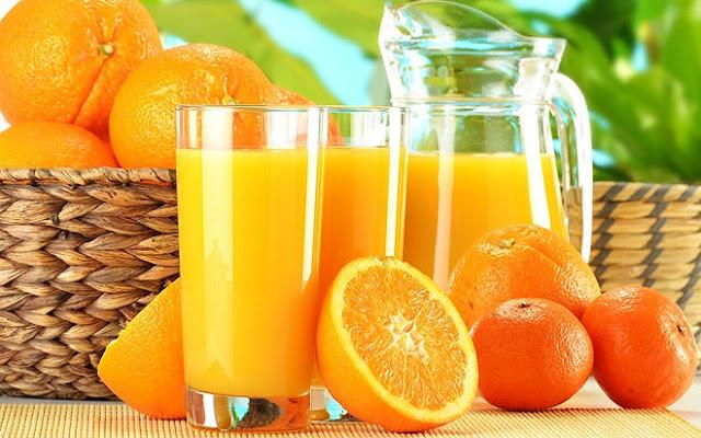 Vitamin C trong nước cam rất tốt cho bệnh nhân tiểu đường