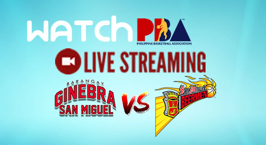 Livestream List: Ginebra vs SMB game live streaming March 9, 2018 PBA Philippine Cup SEMIS Game 1