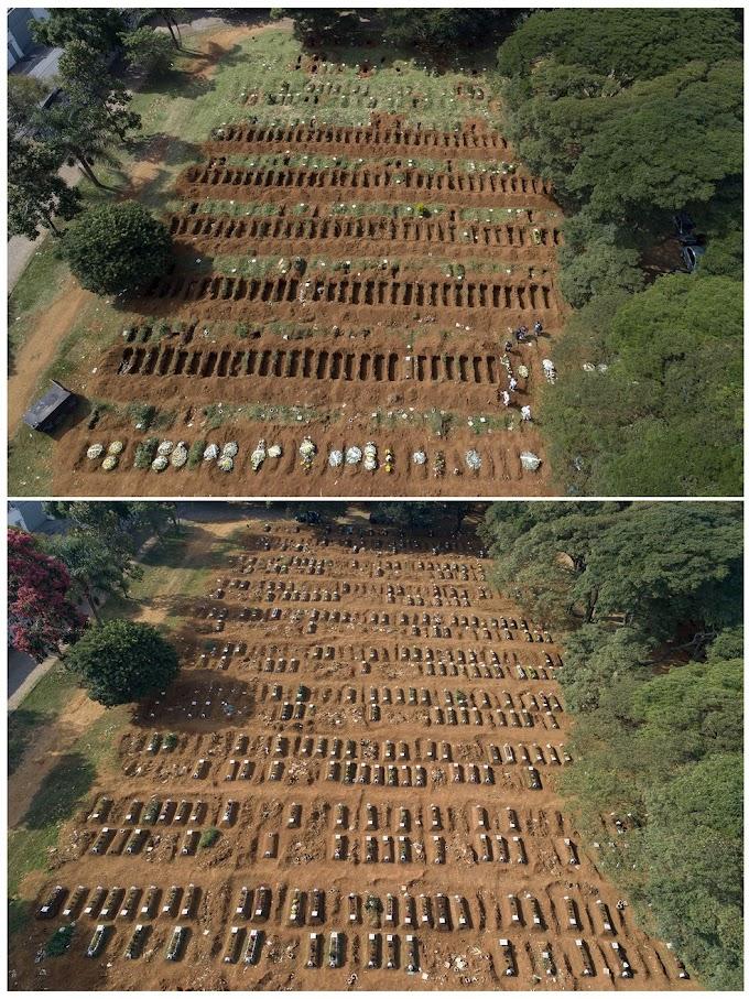 'Estamos enterrando mais de 75 por dia', diz coveiro de cemitério de SP que recebe vítimas de Covid-19