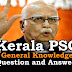 Kerala PSC General Knowledge Question and Answers - 26