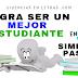 Cómo ser un buen estudiante en 5 pasos simples. #Infografía #EstudianteExitoso