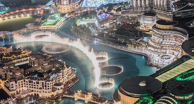 Dubai Mall Fountain - World Largest Choreographed Fountain