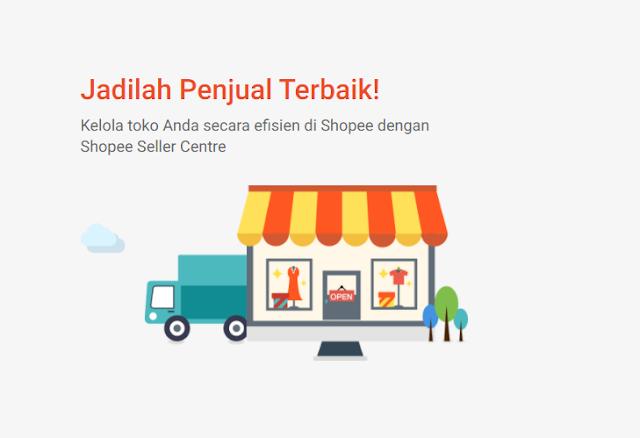 Shopee seller center