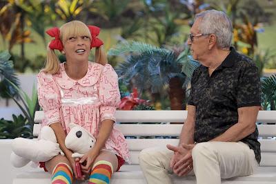 Marlei Cevada como a divertida Nina (Crédito: Lourival Ribeiro/SBT)