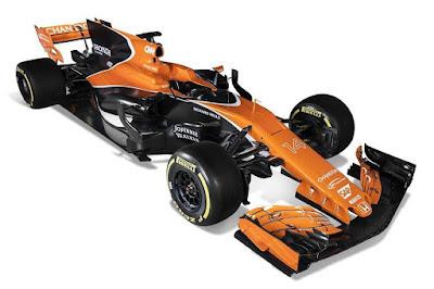 McLaren MCL32 2017 Front Side