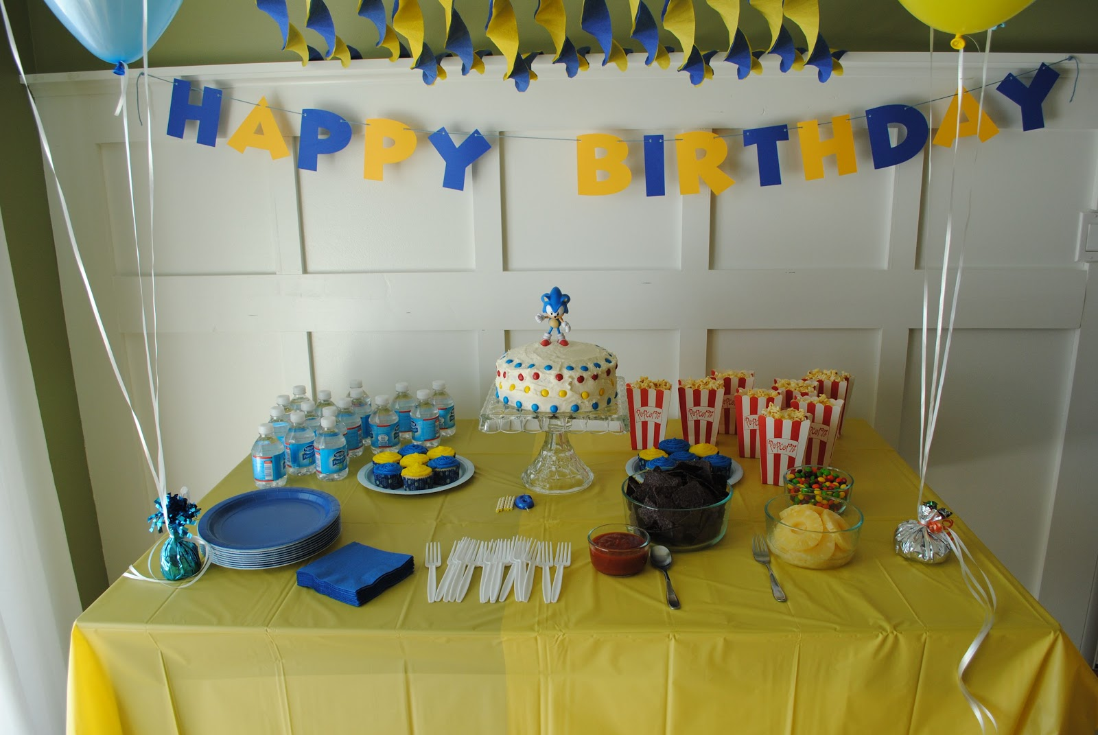 Its A Boys World Super Sonic 6th Birthday Party