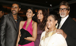 Aishwarya With Abhishek And In Laws