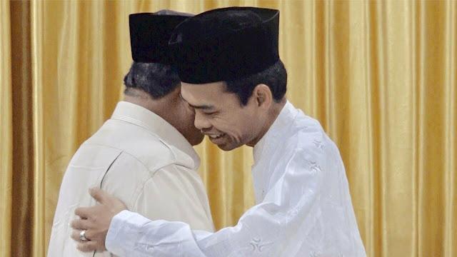 UAS Dukung Prabowo: Sebuah Komando Penting dari Ulama Hanif kepada Seluruh Rakyat Indonesia