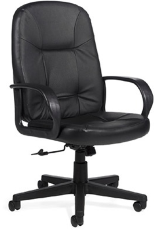 Global Arno Leather High Back Chair