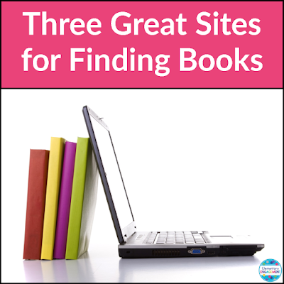 This post shares three great websites for finding just right books for your classroom library.