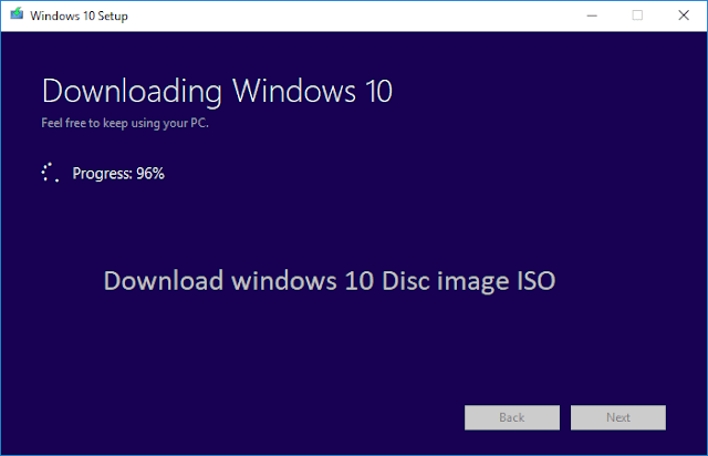 windows 10 download 96 %