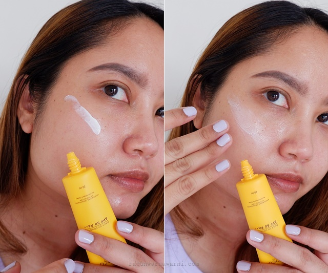 Formula dan Ingredients Sunscreen Lacoco Daily UV Counter SPF 50/ PA++