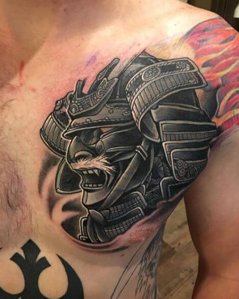 b17449a4aa790 100+ Japanese Samurai Tattoo Designs With Meaning (2018 ...
