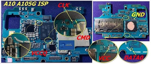 Isp Pinout Samsung A10