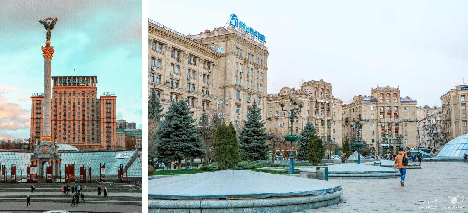 My Travel Background : visiter Kiev, la capitale de l'Ukraine, top 10 - Place de l'indépendance