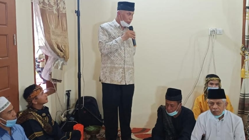 Gubernur Sumbar Hadiri Alek Nagari Malewakan Gala Datuak Intan Batuah Suku Jambak Agam