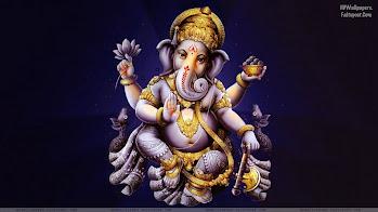 Hindu God Lord Ganesh HD Wallpapers