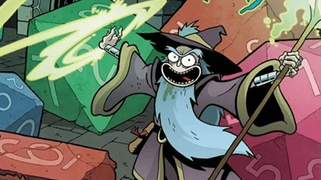 Crossover entre DeD e Rick and Morty se torna campanha de RPG