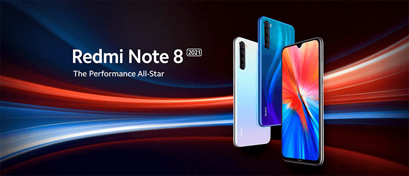 Xiaomi's Redmi Note 8 2021 comes with the MediaTek Helio G85 chip!